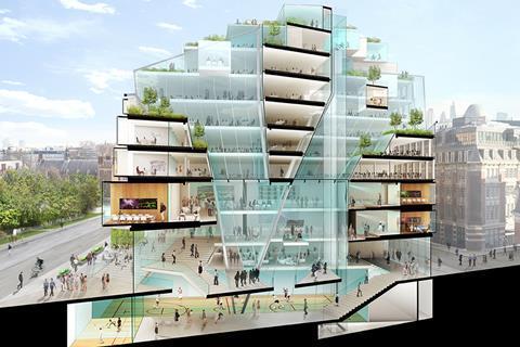 Team A - LSE Paul Marshall Building